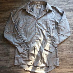 Medium gray dress shirt
